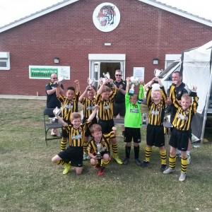 Holbeach Under 9's Yellow Winners