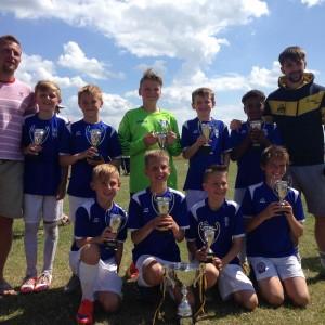 Baston Under 11's Winners
