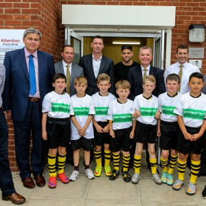 Official opening of Holbeach Utd 3G Pitch.  Picture by Andy Kearns/Stella Pictures Ltd 0781 864 4264 26/06/2015