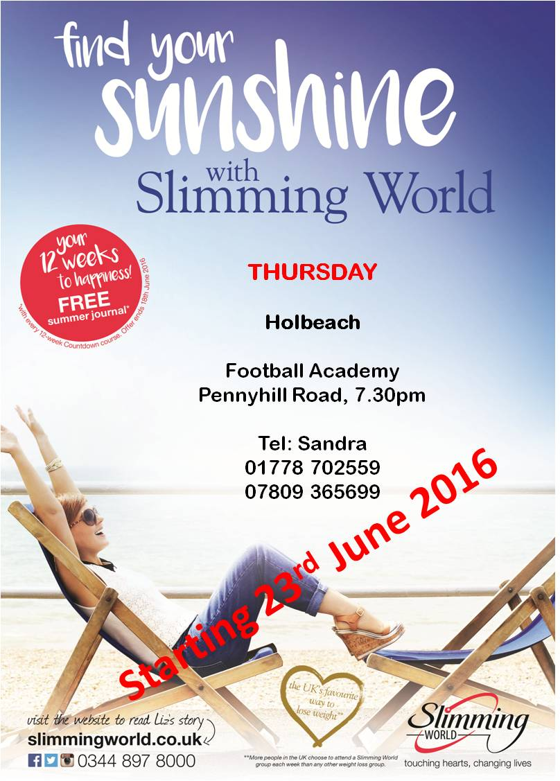 Slimming world holbeach united The slimming world